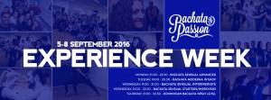 Bachata experience week Schedule